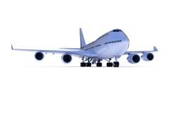 самолет большой Стоковое Изображение