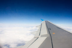 Самолет в небе Стоковое Изображение RF