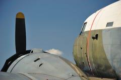 самолет Дакота douglas стоковая фотография