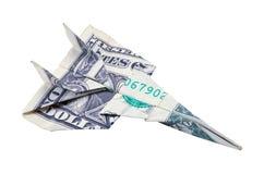 Самолет доллара Стоковые Фото