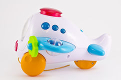 Самолет игрушки Стоковое Изображение