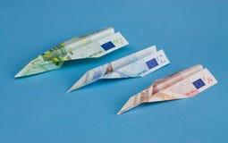 самолет-истребители евро Стоковое Изображение RF