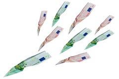 самолет-истребители евро Стоковая Фотография RF