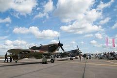 самолет-истребители ww2 стоковая фотография rf