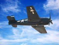 самолет-истребитель американца самолета Стоковое Изображение RF