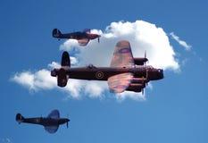 самолет-истребитель бомбардировщика Стоковое Изображение
