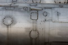 самолет-истребитель детали тела стоковое изображение rf