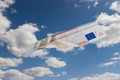 самолет-истребитель евро Стоковые Фото