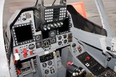 самолет-истребитель кокпита Стоковое Изображение