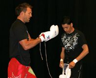 Самолет-истребитель Райан Bader UFC Стоковые Фотографии RF