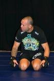 Самолет-истребитель Сильвы UFC Wanderlei Стоковое фото RF