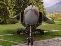 самолет-истребитель старый Стоковая Фотография RF