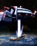 самолет-истребитель увоза Стоковое Фото
