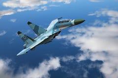самолет-истребитель Стоковое Изображение RF