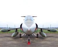 самолет-истребитель f104 Стоковая Фотография
