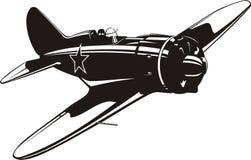 самолет-истребитель i16 Стоковое фото RF