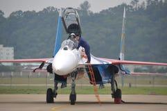 Самолет-истребитель Su-27 Стоковое Изображение