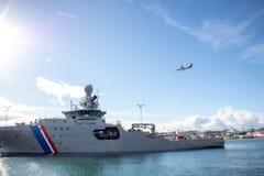 самолет и линкоры в Исландии стоковые изображения