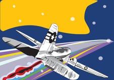 самолет старый Стоковые Фото