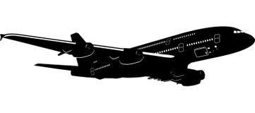 самолет 380 бесплатная иллюстрация