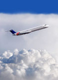 самолет Стоковое Изображение