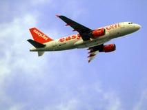 Самолет EasyJet стоковая фотография rf