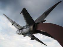Самолет MIG 21 стоковое фото rf