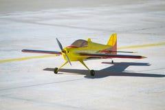 Самолет RC модельный стоковое изображение