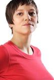 самолюбивая женщина Стоковая Фотография RF