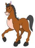 Самолюбивая лошадь Бесплатная Иллюстрация