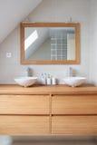 Самомоднейшая ванная комната Стоковые Изображения RF