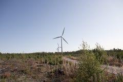самомоднейшая ветрянка Стоковые Изображения