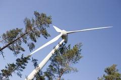 самомоднейшая ветрянка Стоковое Изображение RF