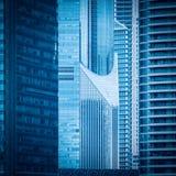 Самомоднейшая деталь здания highrise Стоковые Фотографии RF