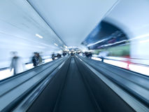 самомоднейшая дорожка тоннеля Стоковое Изображение RF