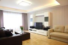 Самомоднейшая живущая комната Стоковое Изображение RF