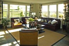 Самомоднейшая живущая комната Стоковая Фотография