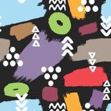 самомоднейшая картина безшовная Нарисовано вручную Эскиз, граффити, doodle бесплатная иллюстрация