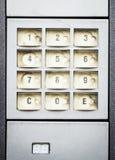 Самомоднейшая кнопочная панель Стоковое Фото