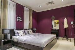 Самомоднейшая комната кровати Стоковые Фото