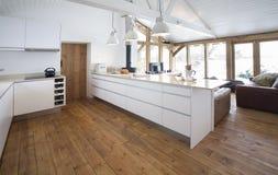 Самомоднейшая кухня 2 Стоковые Изображения