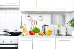 Самомоднейшая кухня стоковое изображение
