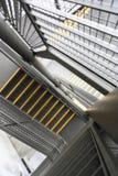 Самомоднейшая лестница металла Стоковые Фото