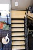 самомоднейшая лестница Стоковое фото RF