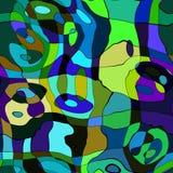 самомоднейшая мозаика иллюстрация вектора