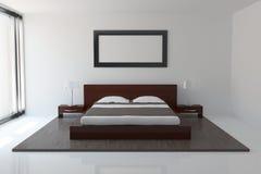 Самомоднейшая спальня Стоковое фото RF