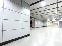 Самомоднейшая станция метро стоковые изображения rf