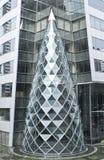 Самомоднейшее внешнее здание Стоковые Изображения