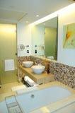 самомоднейшее гостиницы ванной комнаты роскошное Стоковые Изображения