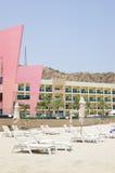 самомоднейшее гостиницы пляжа роскошное Стоковые Фотографии RF